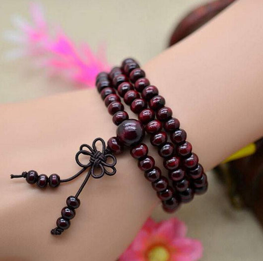Natural Buddhist Meditation Beads Jewelry SoulOnSoul