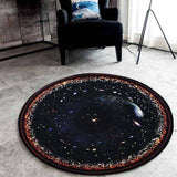 Outer Space Cosmic Rug Home & Garden SoulOnSoul 01 60cmx60cm