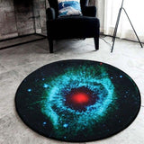 Outer Space Cosmic Rug Home & Garden SoulOnSoul 02 60cmx60cm