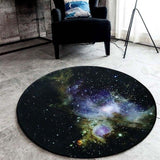 Outer Space Cosmic Rug Home & Garden SoulOnSoul 03 60cmx60cm
