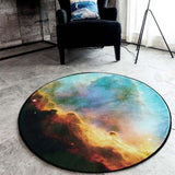 Outer Space Cosmic Rug Home & Garden SoulOnSoul 04 60cmx60cm