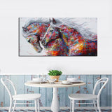 Beautiful Horse Canvas Art Home & Garden SoulOnSoul