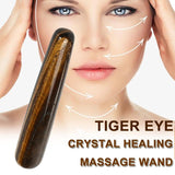 Gua Sha Therapy Tiger Eye Massage Wand crystal SoulOnSoul
