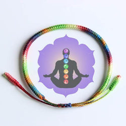 7 Chakra Healing Bracelet Blessed By Tibetan Buddhist Monks SoulOnSoul