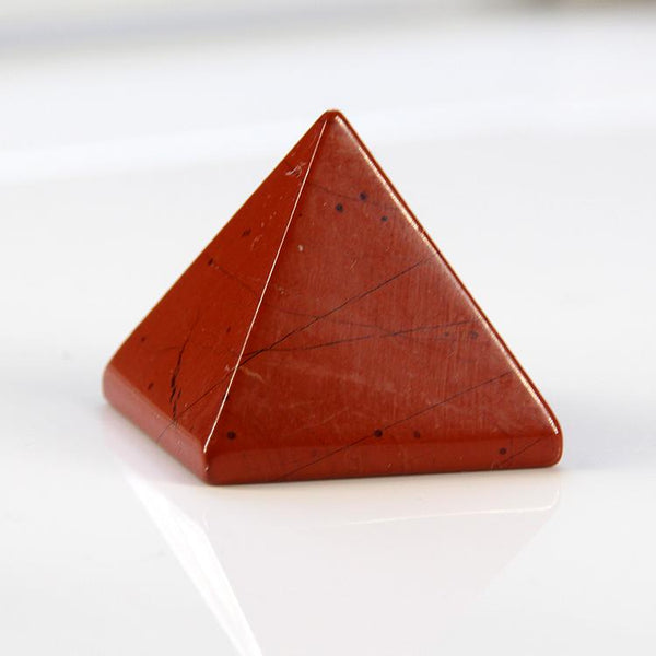 Red Jasper Reiki Charged Crystal Stone Pyramid crystal SoulOnSoul
