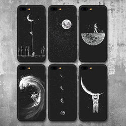 From Space With Love Authenic Astronaut iPhone Case SoulOnSoul