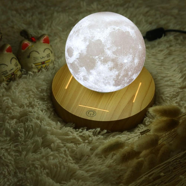 Magical Flying 3D Moon Lamp