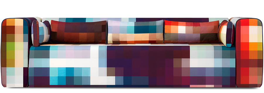 Pixel Pixellated Sofa