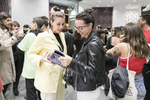 Camper Twins Party Launch with designer Cristian Zuzunaga with people
