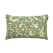Inca Bold Green Cushion