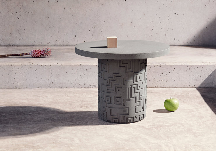Inca Side Table Grey