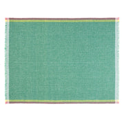 Intuition Green 100% Merino Wool Handwoven Throw