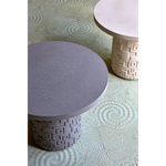 3D INCA COFFEE TABLE LIGHT GREY