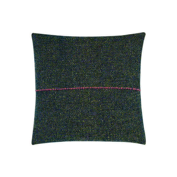 Integrate Handwoven Dark Green Cushion