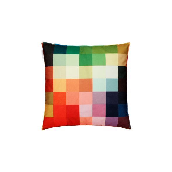 Pixel Fire Cushion