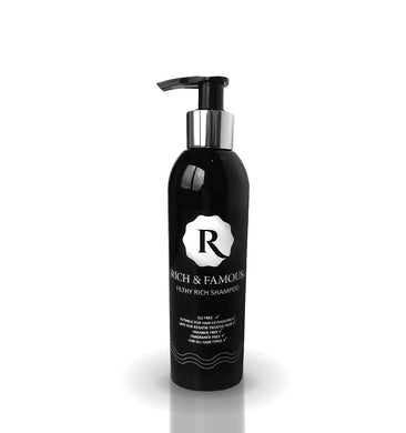 Rich & Famous Filthy Rich Shampoo > SLS Free > Sodium Chloride Free > Fragrance Free > Will NOT Irritate Your Scalp Or Dry Out Your Hair