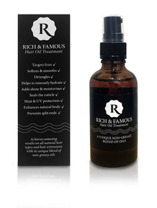 Rich & Famous Hair Oil Treatment > Our Best Seller
