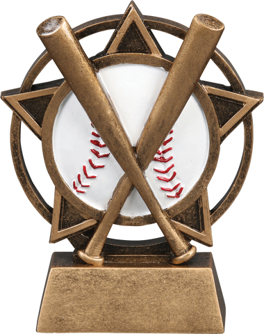 56903GS Orbit Resin Baseball Trophy