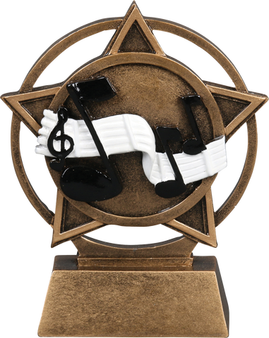 56926GS Orbit Resin Music Trophy