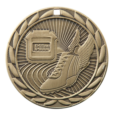 "FE-216 Track Medal 2"" with Ribbon"