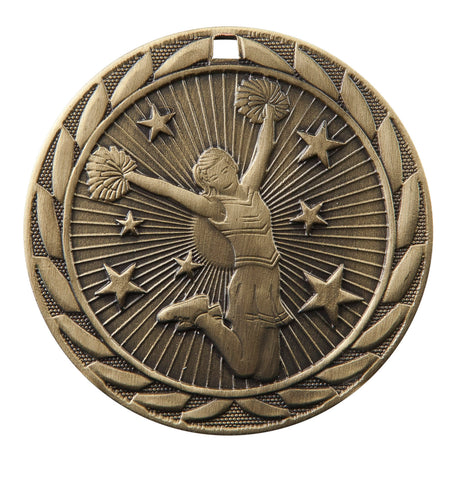 "FE-226 Cheer Medal 2"" with Ribbon"
