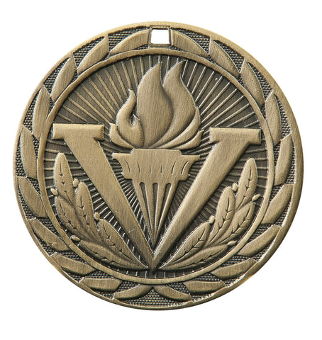 "FE-290 Torch Medal 2"" with Ribbon"