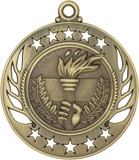 "GM110 Torch Medal 2.25"" with Ribbon"