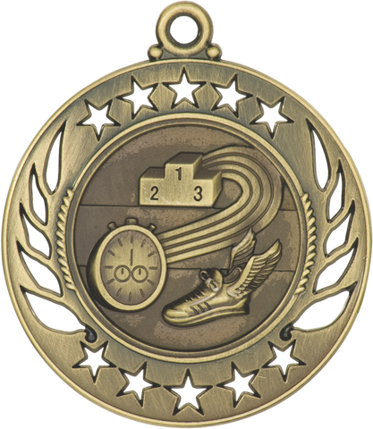 "GM112 Track Medal 2.25"" with Ribbon"