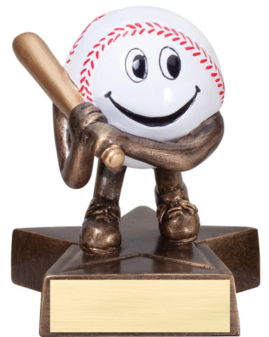 LBR01 Lil' Buddy Baseball Resin Trophy