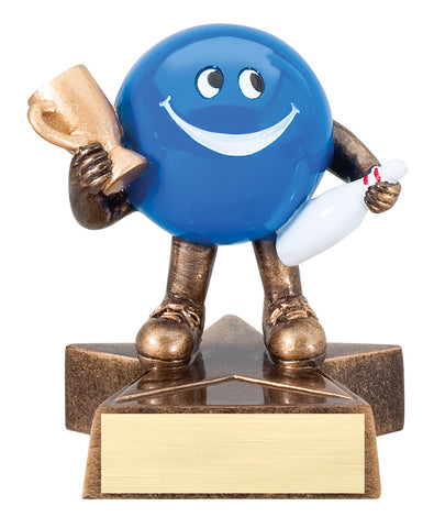 LBR05 Lil' Buddy Bowling Resin Trophy