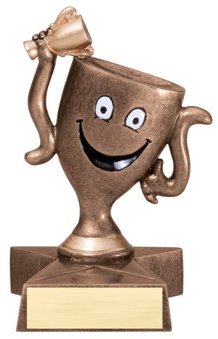 LBR54 Lil' Buddy Winner's Cup Resin Trophy