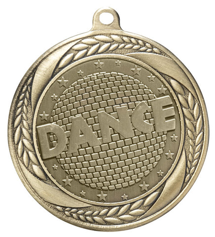 "Dance Medal 2.25"" with Ribbon"