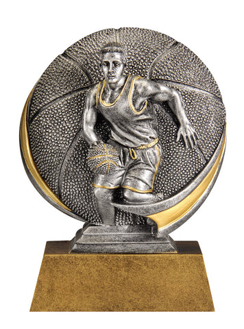 MX507 Motion Xtreme Basketball Male Resin Trophy