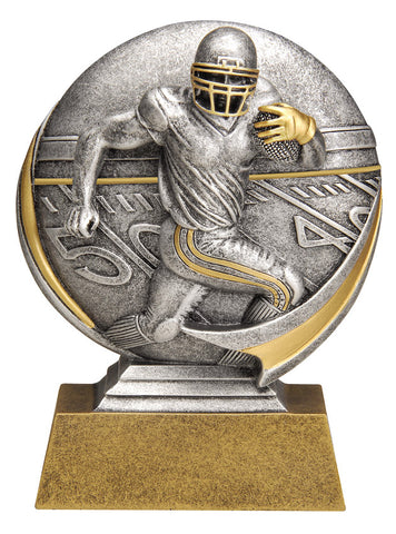 MX509 Motion Xtreme Football Male Resin Trophy