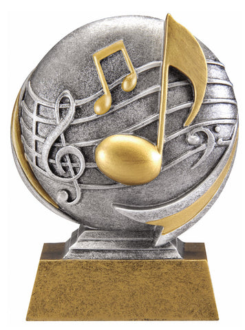 MX512 Motion Xtreme Music Resin Trophy