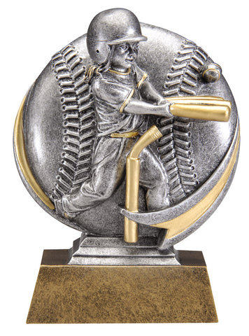 MX520 Motion Xtreme T-Ball Female Resin Trophy