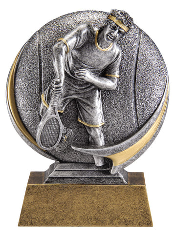 MX521 Motion Xtreme Tennis Male Resin Trophy