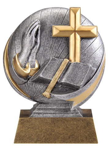 MX535 Motion Xtreme Religion Resin Trophy
