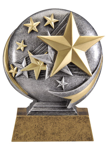 MX536 Motion Xtreme Stars Resin Trophy