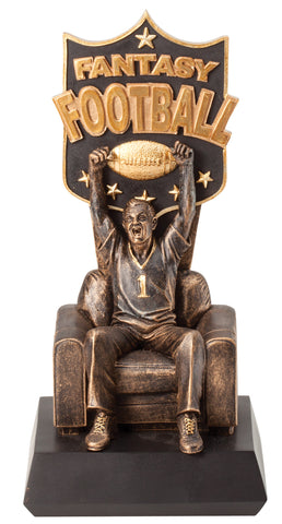 RF142 Man of Sofa - Fantasy Football Trophy