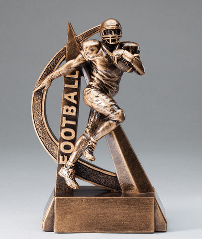 Ultra Action Resin Football Trophy