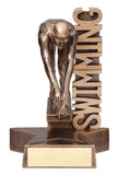 Billboard Series Resin Male Swimming Trophy