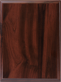 UPR Cherry Finish Plaque (Press Board)