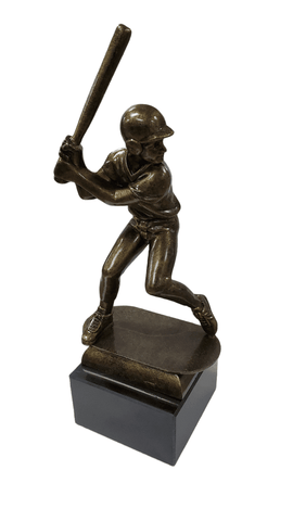 "8.5"" Baseball / Antique Finish Trophy (closeout)"