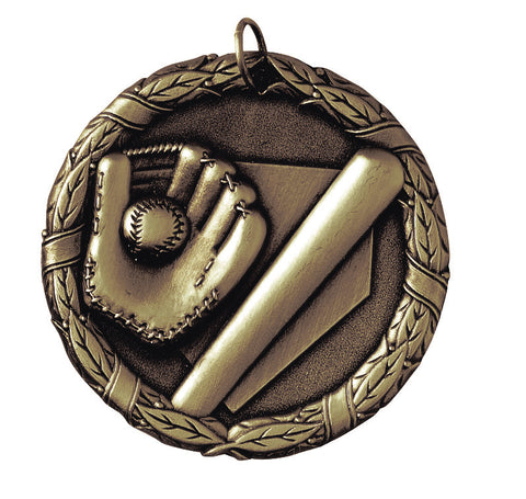 "XR-200 Baseball Medal 2"" with Ribbon"
