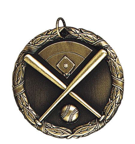 "XR-201 Baseball Medal 2"" with Ribbon"