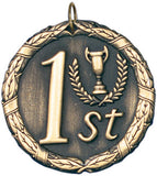 "XR Series Academic Medals 2"" with Ribbon"