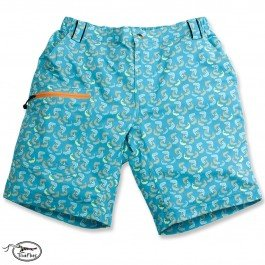 TRUEFLIES Men's Shorts - Jumping Tarpon