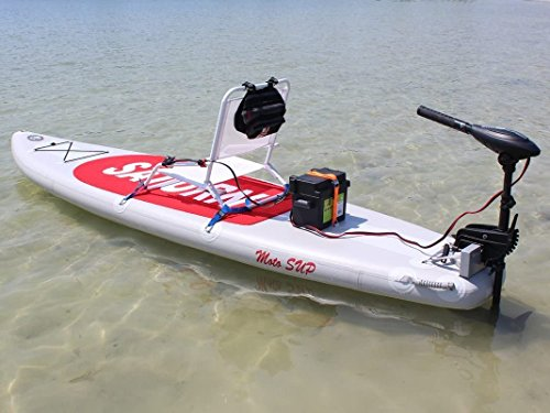 Saturn Inflatable MotoSUP - 3-in-1: SUP, Sit-On-Top Kayak