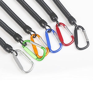 6pcs Pack Fishing Lanyards - Secure Pliers, Lip Grips, Tackle Tools